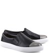 Slip-on Metal Toe Preto
