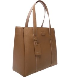 Bolsa Shopping Paolla Grande Natural Tan