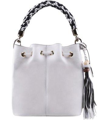 Bolsa Bucket Brigitte Off-White