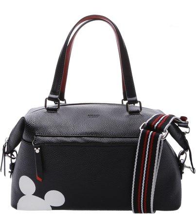 a026e431a Disney | Bolsa Shopping Grande Prione Disney Preta e Royal Red ...