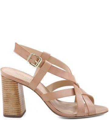 Sandália Multi-Tiras Nude-Rose