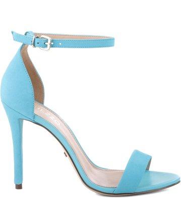 Sandália Isabelli Nobuck New-Turquoise