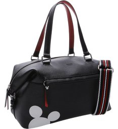 Disney | Bolsa Shopping Grande Prione Disney Preta e Royal Red