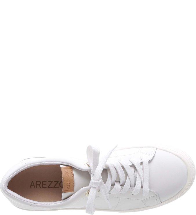 Tênis ZZ Life Couro Skin Bianco