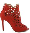 Peep-toe Abotinada Recortes Spicy