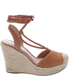 Espadrille Cordão Natural Tan