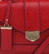 Bolsa Satchel Pequena Scarlet