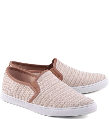 Slip-on Pespontos Blush