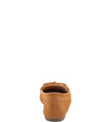 Mocassim Basic Camurça Camel