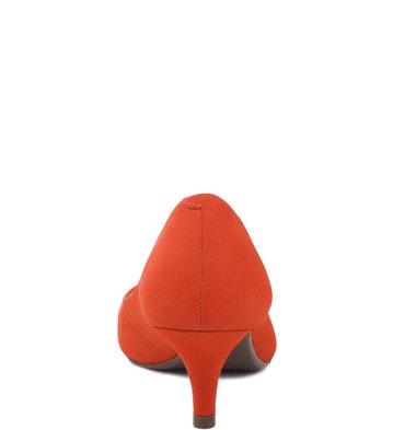 Scarpin Baixo Nobuck New-Apricot