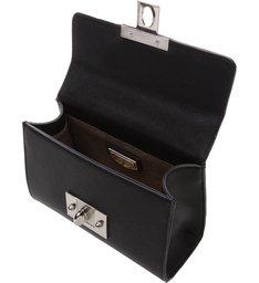 Bolsa Tiracolo Pequena Chain Preta