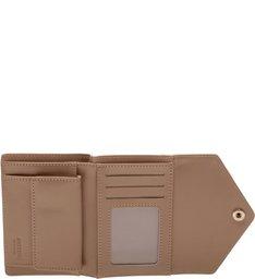 Carteira Pequena Envelope Pale Beige