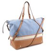 Bolsa Shopping Jeans Tan