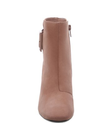 Bota Nobuck Fivela Retro Smoke Rose