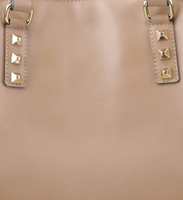 Shopping Studded Pelle