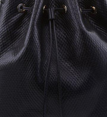 Bolsa Bucket Brigitte Preta