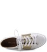 Tenis Listra Metalizada Branco
