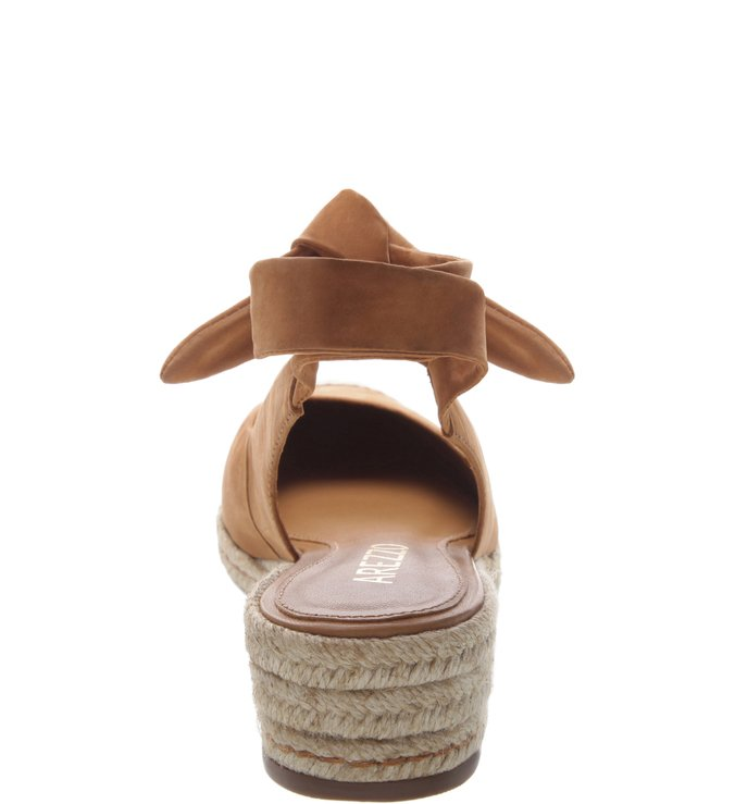 Espadrille Baixa Nobuck Alice Natural Tan