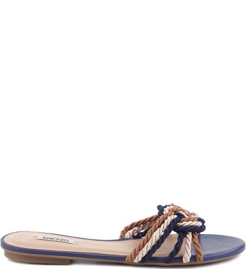Rasteira Colors Nautic Navy