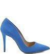 Scarpin Nobuck Blue-Wave