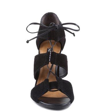 Sandália Laços Preta