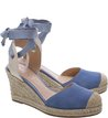 Espadrille Ponteira Savannah Blue Bird