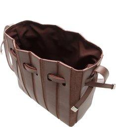 Bolsa  Bucket Pequena  Couro Parioli  Shadow