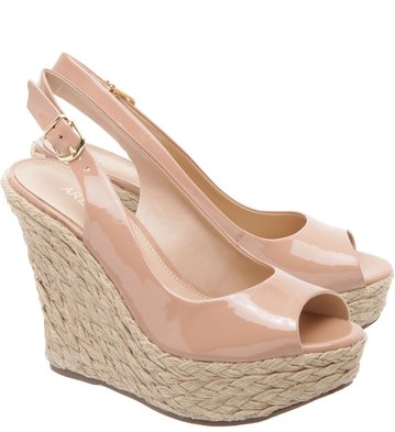 Espadrille The-One Couro Mel