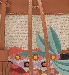 [PRÉ VENDA] Bolsa Shopping Grande Baroncelli Naia Multicolorida