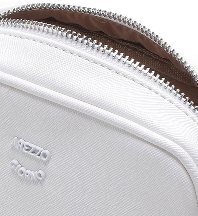 Bolsa Tiracolo Pochete Pequena Bianco