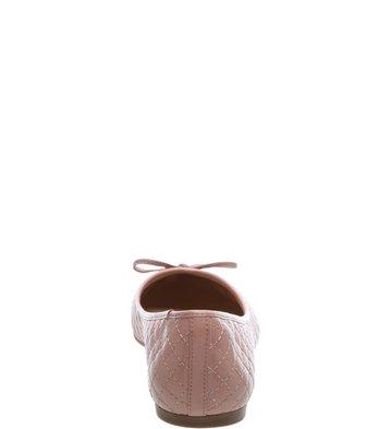 Sapatilha Bico Fino Matelassê Rose Blush