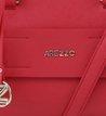 Bolsa Bowling Textura Vermelha