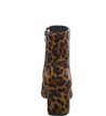 Bota Cano Curto Total Animal Print