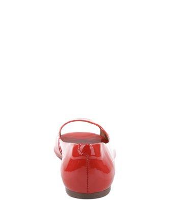 Peep Toe Verniz Spicy Red