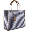 Bolsa Shopping Gift Listras Navy