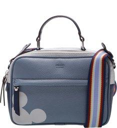 Disney | Bolsa Tiracolo Média Prione Disney Vintage Blue e Indigo