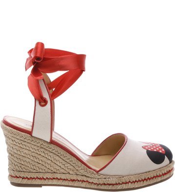 Disney x Arezzo | Espadrille Lace Up Pop Flame