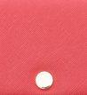 Carteira Pequena Textura Vermelho