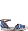 Espadrille Flat Ethnic Pop Navy