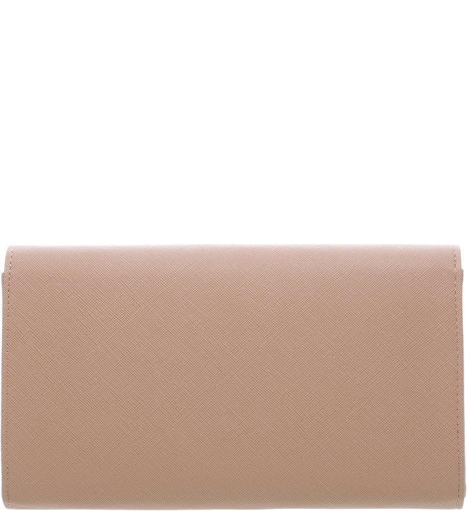 Carteira Low Grande Natural Peach