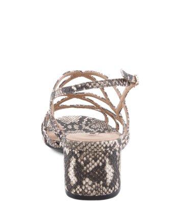 Sandália Tirinhas Snake