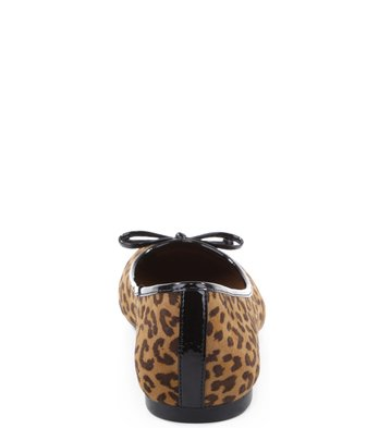 Sapatilha Tecido Leopard Print