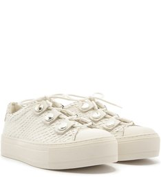Tênis Viper Skin Tachas Bianco