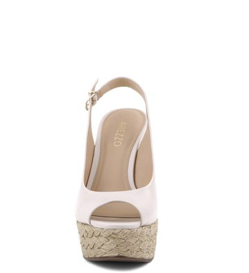 Espadrille The-One Couro Off-White