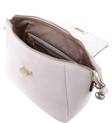 Bolsa Satchel Clássica Off-White