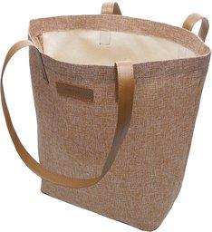 Bolsa Shopping Tecido Toledo Grande Castor