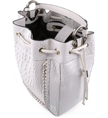 Bolsa Bucket Alice Off-White