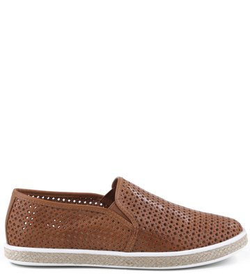 Slip-on Vazados Tan