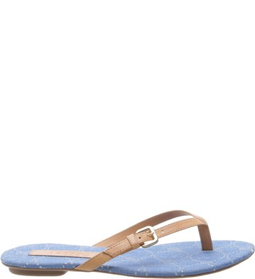 Chinelo Jeans Mel