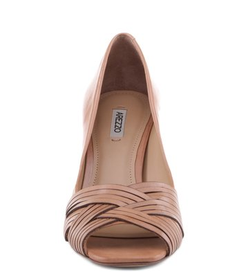 Peep Toe Tramas Blush